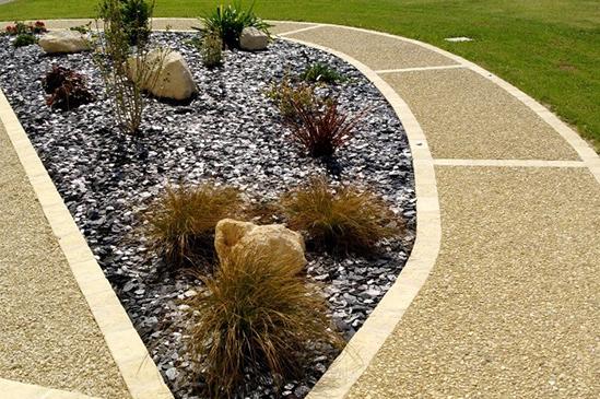 conception massif jardin